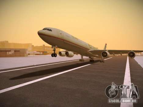 Airbus A340-600 Etihad Airways para GTA San Andreas