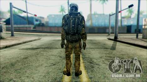 Soldados da equipe Fantasma 2 para GTA San Andreas segunda tela