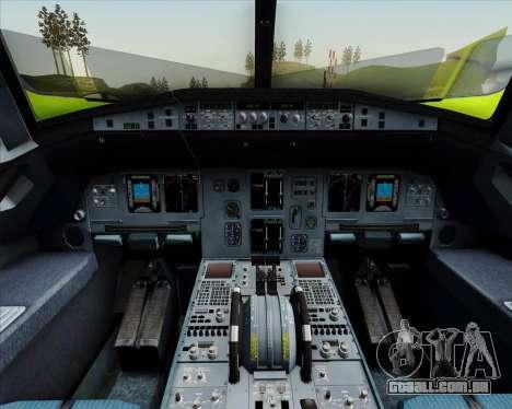Airbus A320-214 S7-Siberia Airlines para o motor de GTA San Andreas