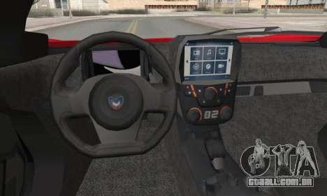 Marussia B2 para GTA San Andreas vista traseira