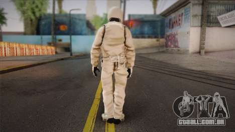 The Stig from Top Gear para GTA San Andreas segunda tela