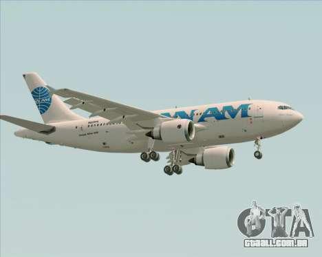 Airbus A310-324 Pan American World Airways para GTA San Andreas vista inferior