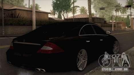 Mercedes-Benz CLS 350 para GTA San Andreas esquerda vista