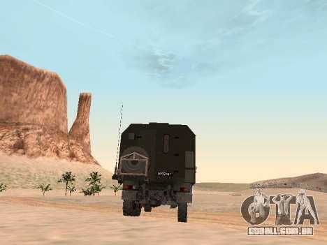 ZIL 131 Kung para GTA San Andreas vista direita