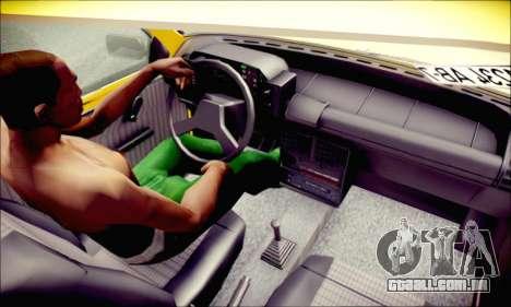 Fiat Uno para GTA San Andreas vista traseira
