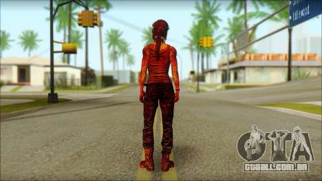 Tomb Raider Skin 9 2013 para GTA San Andreas segunda tela