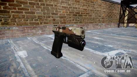 Pistola Glock de 20 choco para GTA 4