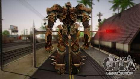Grimlock v1 para GTA San Andreas segunda tela