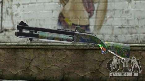 Graffiti Shotgun para GTA San Andreas