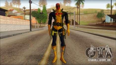Xmen Deadpool The Game Cable para GTA San Andreas