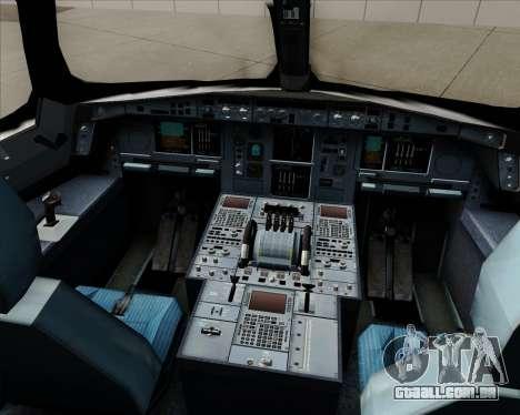 Airbus A350-941 Japan Airlines para GTA San Andreas interior