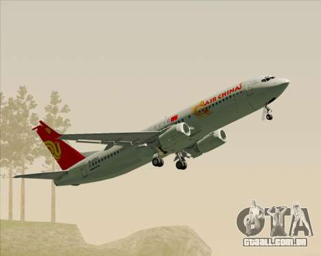Boeing 737-89L Air China para GTA San Andreas