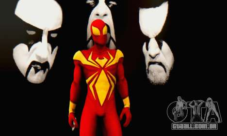 Skin The Amazing Spider Man 2 - DLC Iron Spider para GTA San Andreas