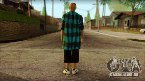Los Aztecas Gang Skin v3 para GTA San Andreas segunda tela