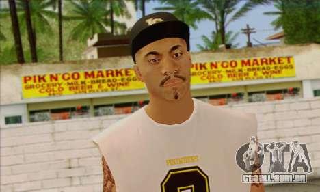 Vagos from GTA 5 Skin 1 para GTA San Andreas terceira tela