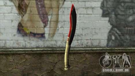 Fang Blade from PointBlank v1 para GTA San Andreas segunda tela