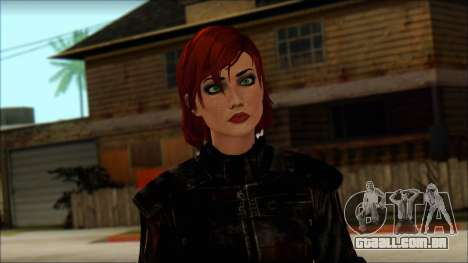 Mass Effect Anna Skin v9 para GTA San Andreas terceira tela