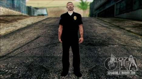 Oficial de Entalhador de Cena para GTA San Andreas