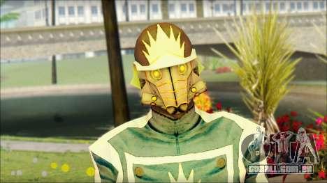 Guardians of the Galaxy Star Lord v1 para GTA San Andreas terceira tela