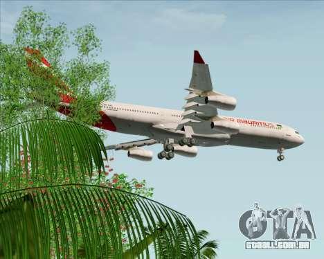 Airbus A340-312 Air Mauritius para GTA San Andreas