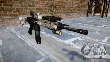 Automatic rifle Colt M4A1 ghotex para GTA 4