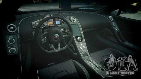 McLaren 650S Spider 2014 [EPM] Michelin v2 para GTA 4 vista interior