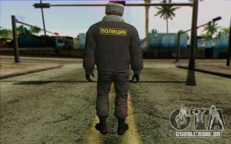 A polícia da Rússia Pele 4 para GTA San Andreas segunda tela