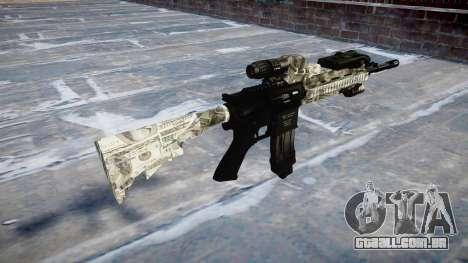 Automatic rifle Colt M4A1 benjamins para GTA 4 segundo screenshot