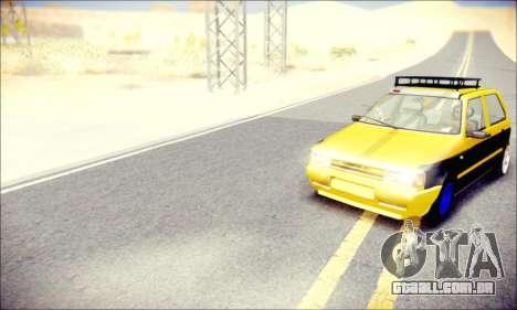 Fiat Uno para GTA San Andreas vista direita