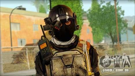 Mercenário (SC: Blacklist) v2 para GTA San Andreas terceira tela