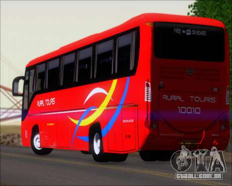Yanson Viking 4th Generation Rural Tours 10010 para GTA San Andreas interior