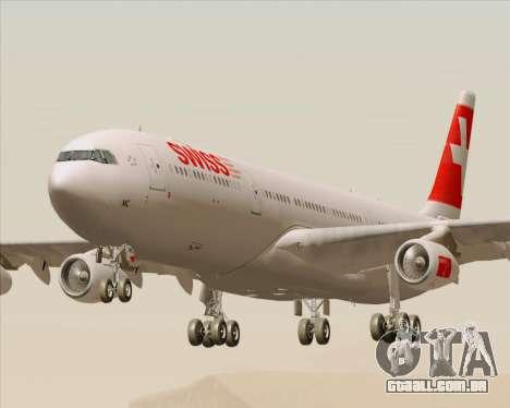 Airbus A340-313 Swiss International Airlines para GTA San Andreas
