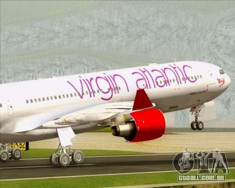 Airbus A330-300 Virgin Atlantic Airways para o motor de GTA San Andreas