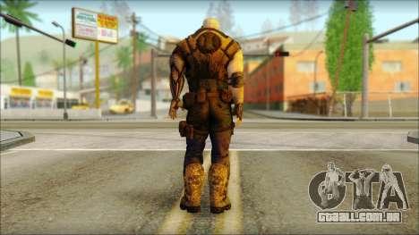 Deadpool The Game Cable para GTA San Andreas segunda tela