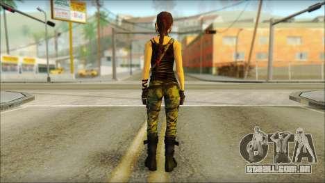 Tomb Raider Skin 4 2013 para GTA San Andreas segunda tela