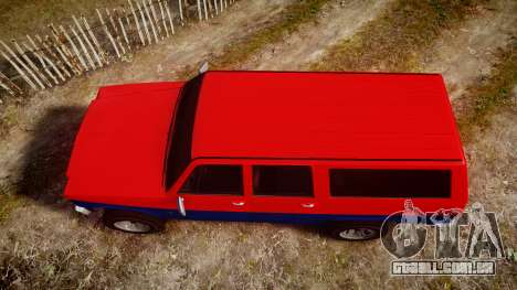 GTA V Declasse Rancher XL para GTA 4 vista direita