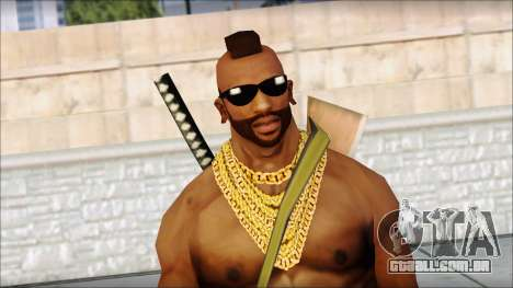 MR T Skin v9 para GTA San Andreas terceira tela