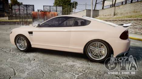 GTA V Bollokan Prairie Wheel2 para GTA 4 esquerda vista