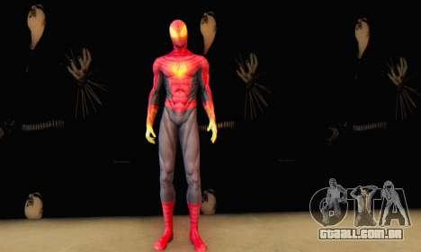 Skin The Amazing Spider Man 2 - Suit Fenix para GTA San Andreas terceira tela
