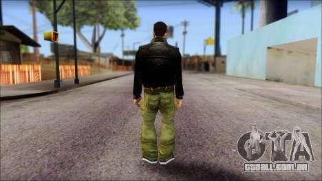 GTA 3 Claude Ped para GTA San Andreas segunda tela