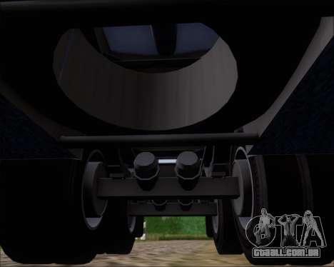 Tanque de reboque Carro Copec para GTA San Andreas vista inferior