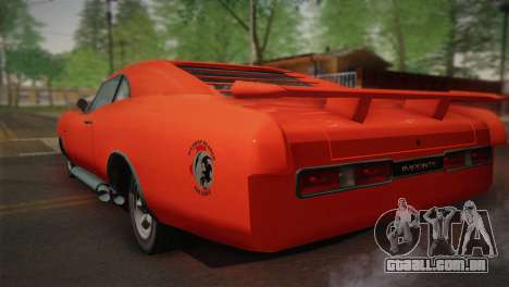 GTA 4 Dukes Tunable para vista lateral GTA San Andreas