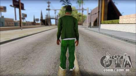 New CJ v4 para GTA San Andreas segunda tela