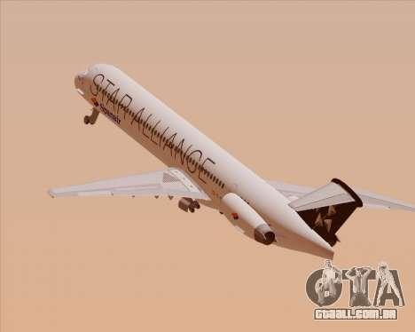 McDonnell Douglas MD-82 Spanair para o motor de GTA San Andreas