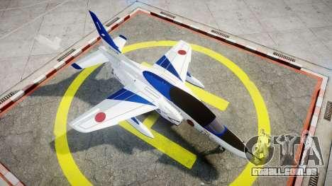 Kawasaki T-4 para GTA 4 vista direita