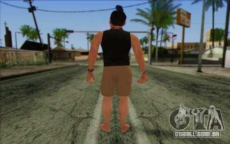 Fabien LaRouche from GTA 5 para GTA San Andreas segunda tela