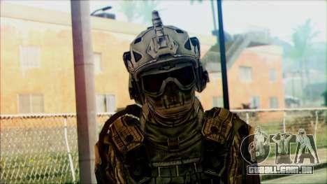 Soldados da equipe Fantasma 3 para GTA San Andreas terceira tela