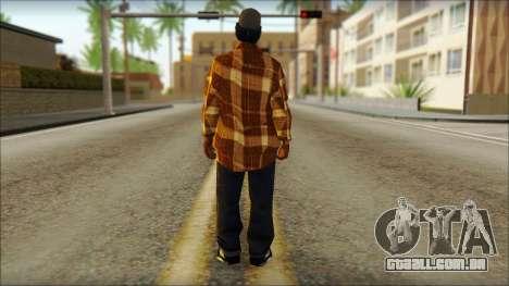 Eazy E Lumberjack Skin para GTA San Andreas segunda tela