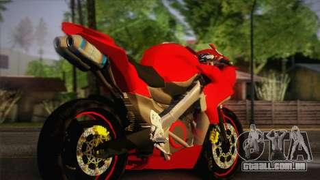Yamaha New V-Ixion Lightning Concept Variasi para GTA San Andreas esquerda vista