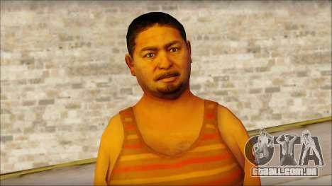 GTA 5 Ped 14 para GTA San Andreas terceira tela